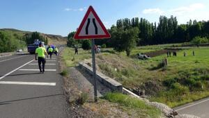 Yozgatta otomobil şarampole yuvarlandı: 1 ölü, 2 yaralı