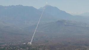 PKK hedefleri vuruldu O anlar böyle görüntüledi...