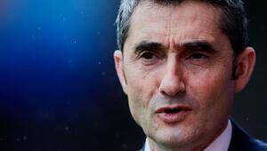 Son dakika: Barcelona, teknik direktör Ernesto Valverde ile yolları ayırıyor