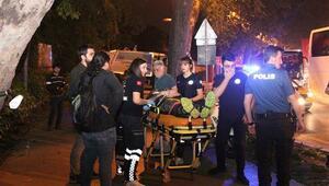Beşiktaş'ta feci motosiklet kazası