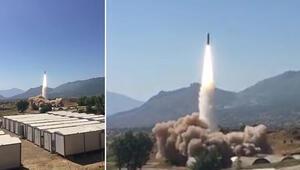 Hakurk'taki terör hedefleri Bora ile vuruldu
