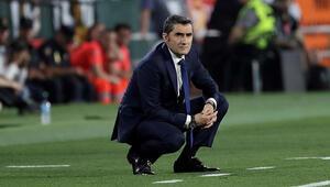 Valverde, Barcelonada kalıyor Messi arka çıktı...
