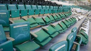 Bursasporun stadyumunda 1.5 milyon TLlik zarar