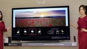 Yapay zekalı LG TV'lerde çoklu dil desteği