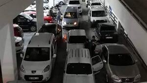Araçlara dolu önlemi