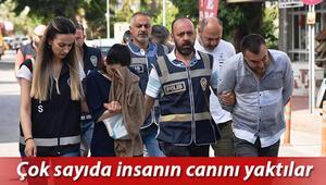 Antalyada Kapora çetesi çökertildi