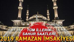 Bu gece sahura saat kaçta kalkılacak 2 Haziran İstanbul Ankara İzmir il il sahur saatleri