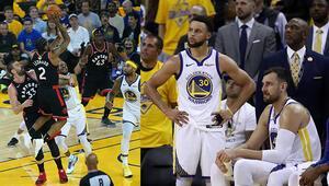 Curry 47 attı ama Toronto saha avantajını geri aldı