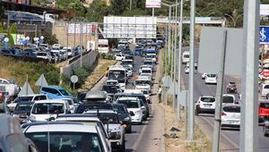 170 bin nüfuslu Bodrum'a bayramda 150 bin araç giriş yaptı