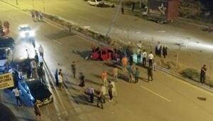 Araçlar çarpıştı sürücü kaçtı