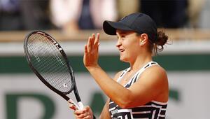Roland Garros tek kadınlarda şampiyon Asleigh Barty