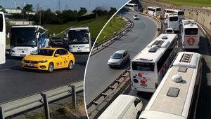 Dönüş sürüyor İstanbul bugün...