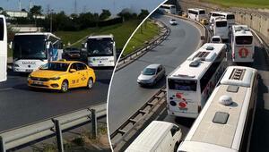 Dönüş sürüyor İstanbul bugün