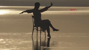 Tuz Gölü, doğal fotoğraf stüdyosu
