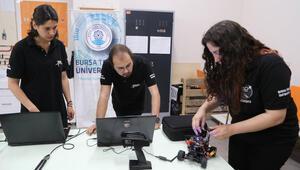 Oktokopter tasarlayan BTÜ öğrencileri ABDde yarışacak