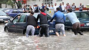Sular çekildi hasar ortaya çıktı