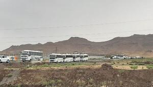 Iğdırdan 840 göçmen gönderildi