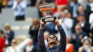 Roland Garrosta zafer Nadalın