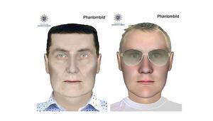 Alman polis soyguncuların peşinde