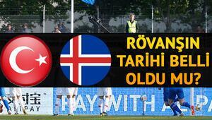Türkiye İzlanda rövanş maçı ne zaman