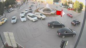 Valinin makam aracı yanında drift atan sürücüye ceza