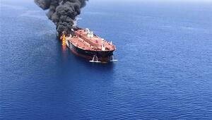 Tankerlere yönelik saldırının yakınlarında İran donanmasına ait gemi iddiası