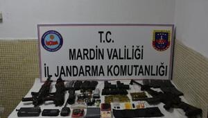 Mardinde 2 teröristin etkisiz hale getirildiği operasyonda silah ve mühimmat ele geçti
