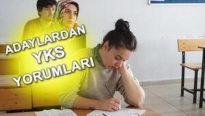 YKS sonrası adaylarda sınav yorumları Türkçe ve Matematik testi nasıldı