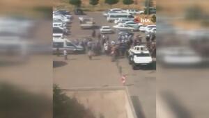 Siverek'teki kavgada hastane önündeki kargaşanın görüntüleri ortaya çıktı