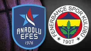 Anadolu Efes - Fenerbahçe Beko maçı ne zaman, saat kaçta, hangi kanalda