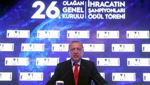Cumhurbaşkanı Erdoğandan ihracatçılara müjde
