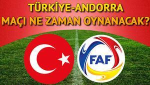 Milli maç ne zaman oynanacak Türkiye- Andorra maçı ile ilgili bilgiler