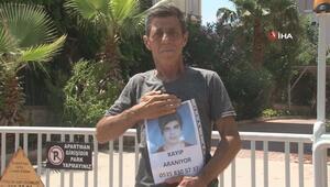 Kayıp oğlunu bulmak için sokak sokak gezen babanın haykırışları yürekleri dağladı