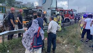 Son dakika: Maltepede zincirleme trafik kazası... 4 kişi yaralandı