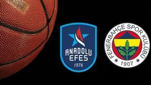 Anadolu Efes Fenerbahçe Beko maçı ne zaman saat kaçta ve hangi kanalda