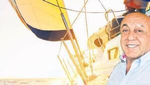 Ünlü iş adamı Ahmet Kaşıbeyaz milyonluk teknesini böyle kaptırdı