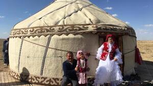 Yozgatta Kırgız Türklerinden bazıları Nevşehire gitti