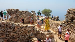 Yerli yabancı turist oraya akın ediyor Her sene sayı artıyor...
