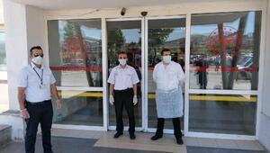 Nevşehir Adliyesinde şüpheli toz paniği