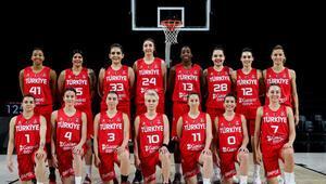 A Milli Kadın Basketbol Takımının nihai kadrosu açıklandı