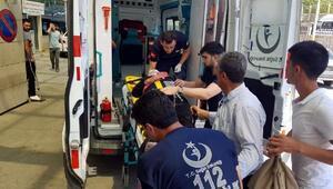 Siirtte yolcu minibüsü ile otomobil çarpıştı: 10 yaralı