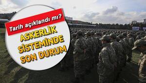 Askerlik sistemi Resmi Gazetede yayımlandı Askerler erken terhis ne zaman yapacak