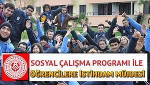 İŞKUR sosyal çalışma programı başvurusu nasıl yapılır Üniversite öğrencileri için iş fırsatı