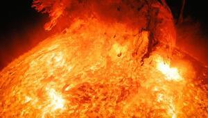 Güneşteki süper patlamalar olacak, Dünya kararabilir