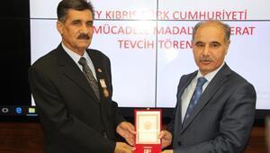 Şırnakta, Kıbrıs Barış Harekatı gazilerine madalya