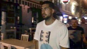 Juventusta oynayan Emre Can, Çeşmede arkadaşlarıyla eğlendi