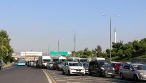 FSM Köprüsünde trafik yoğunluğu