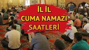 Cuma namazı İstanbulda saat kaçta kılınacak 28 Haziran Diyanet il il cuma namazı saatleri