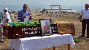 Ünlü iş adamına Laodikya Antik Kenti'nde cenaze töreni