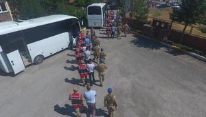 Bitlis merkezli göçmen kaçakçılığı operasyonuna 15 tutuklama